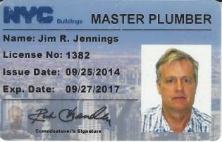 master plumber licence
