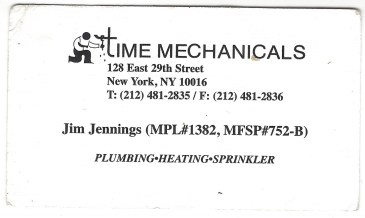time mechanicals card