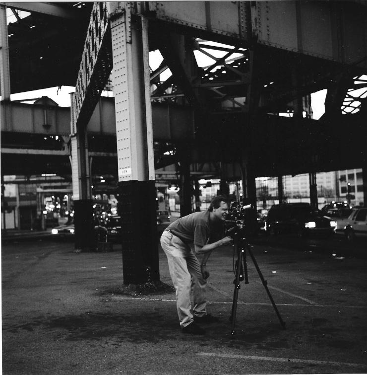 Jim filming silvercup