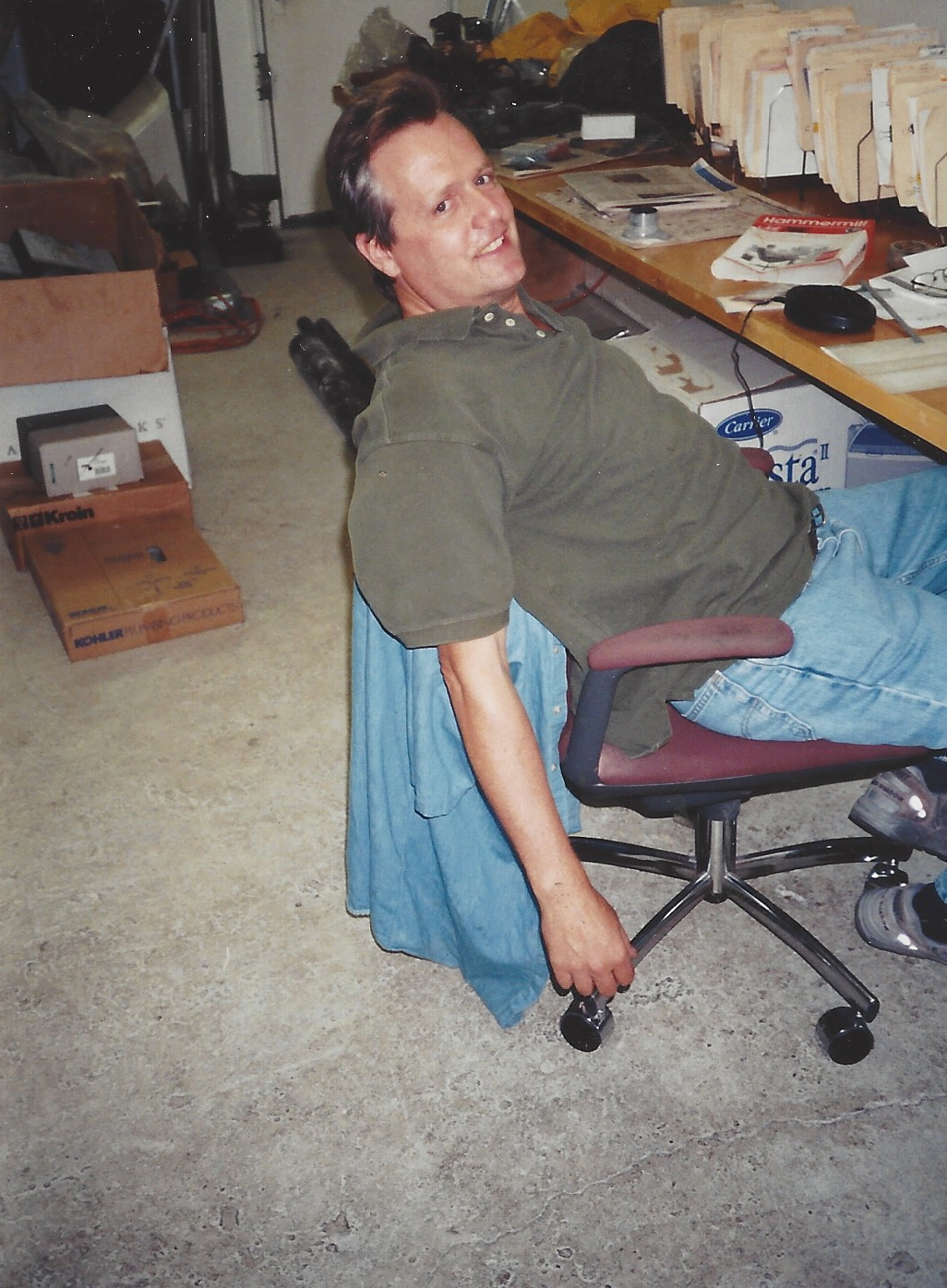 jim plumbing office